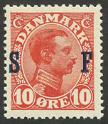Danemark - AFA 2 neuf sans ch.