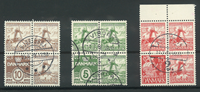 Danmark - AFA 236-238 stemplet