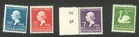 Danmark 1935 - AFA 223+224+226+228 - Postfrisk
