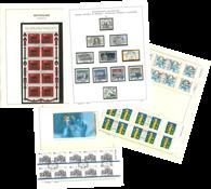 Vesttyskland - Stemplet samling i 2 bind
