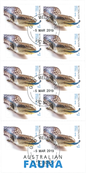 Australien - Firben - Stemplet frimærkehæfte