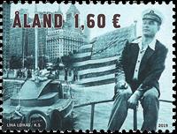 Åland - Record mondial d'Uno Ekblom - Timbre neuf