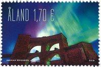 Åland - Nordlys - Postfrisk frimærke