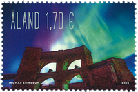 Åland - Aurore Polaire - Timbre neuf
