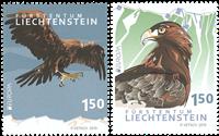 Liechtenstein - Eurooppa 2019 - Kansallislinnut - Postituoreena