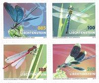 Liechtenstein - Odonates, insectes - Série neuve 4v