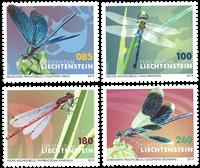 Liechtenstein - Guldsmede - Postfrisk sæt 4v