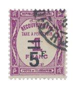 France - 1929/1931 - Y&T TX 65 - Oblitéré