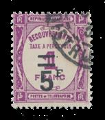 Impero Tedesco - 1929/1931 - Y&T TX 65 - timbrato