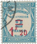 France 1929/1931 - Timbre-Taxe - Oblitéré - Oblitéré