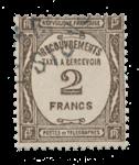 Frankrig - 1927/1931 - Y&T TX 62 - Cancelled