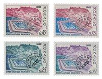 Monaco - 1964/1967 - Y&T PO 23/26 - Neuf