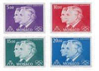 Monaco - 1982 - Y&T PA 100/103 - Neuf