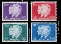 Monaco - 1982 - Y&T PA 100/103 - nuovo