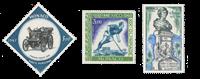Monaco - 1967/1969 - Y&T PA 91/93 - nuovo