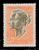Monaco - 1971 - Y&T PA 90A - nuovo