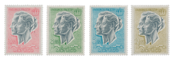 Monaco - 1966/1970 - Y&T PA 87/90 - Neuf