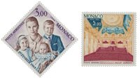 Monaco - 1966 - YT PA 85/86 - Neuf
