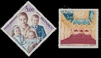 Monaco - 1966 - Y&T PA 85/86 - nuovo