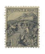 Monaco 1919 - YT 32- Stemplet