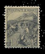 Monaco - 1919 - Y&T 32 - timbrato