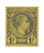 Monaco - 1885 -  Y&T 9 - nuovo linguello