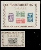 La Sarre - 1948/1949 - Michel Blocs 1/2 - Neuf