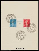 Francia - 1927 - Y&T blocco 2a - timbrato