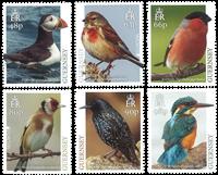 Guernsey - Europa Fugle - Postfrisk sæt 6v