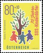 Østrig - SOS Børnebyerne - Postfrisk frimærke