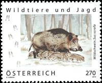 Autriche - Sanglier - Timbre neuf