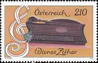 Østrig - Wiener Citar - Postfrisk frimærke