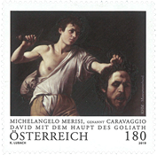 Austria - David & Goliath - Mint stamp