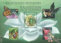 Belgique - La pollinisation des fleurs - Bloc-feuillet neuf