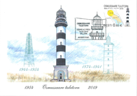 Estonie - Phare Osmussaar - Carte Maximum