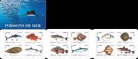 Frankrig - Fisk - Postfrisk frimærkehæfte