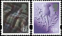Englanti - Yleismerkkejä Skotlanti - Postituoreena (2)