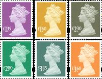 England - Dagligmærker 2019 - Postfrisk sæt 6v