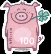 Suisse - L'année du cochon - Timbre neuf