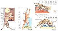 Namibie - Petits félins - Série neuve 4v