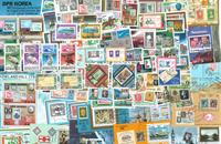 Frimærke på frimærke - 15 miniark, 4 sæt og 51 frimærker