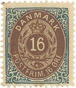 Danmark - AFA 27y postfrisk