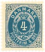 Danmark - AFA 23C postfrisk