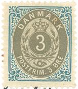 Danmark - AFA 22C postfrisk
