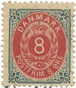 Danmark - AFA 25 ubrugt