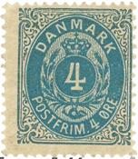 Danmark - AFA 23y ubrugt