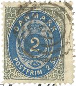 Danmark - AFA 16y stemplet