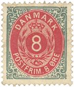 Danmark - AFA 23Æ ubrugt