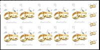 Australie - Bagues de fiancailles - Carnet neuf