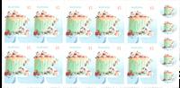 Australie - Gâteau - Carnet neuf
